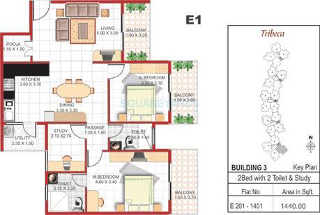concorde manhattans apartment 2bhk 1440sqft1