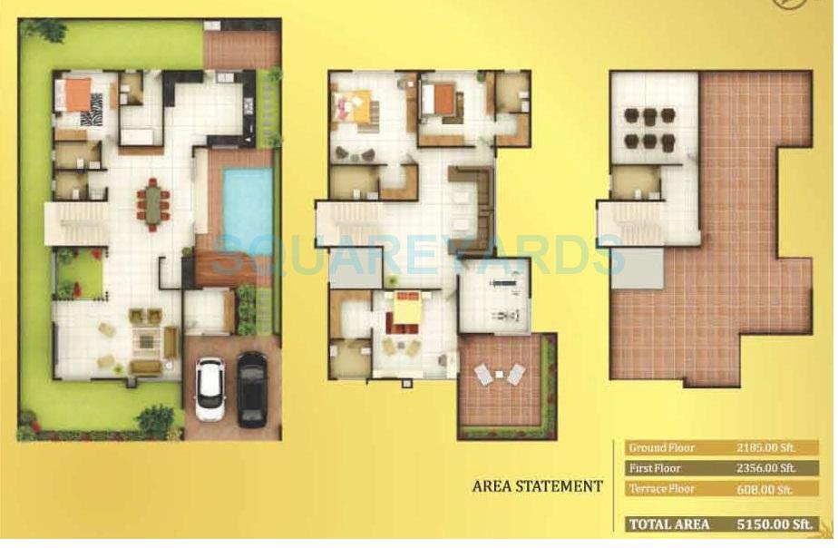 concorde royal sunnyvale villa 4bhk 5150sqft1