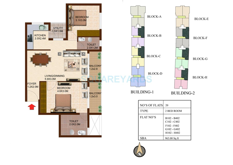 concorde south scape apartment 2bhk 963sqft1