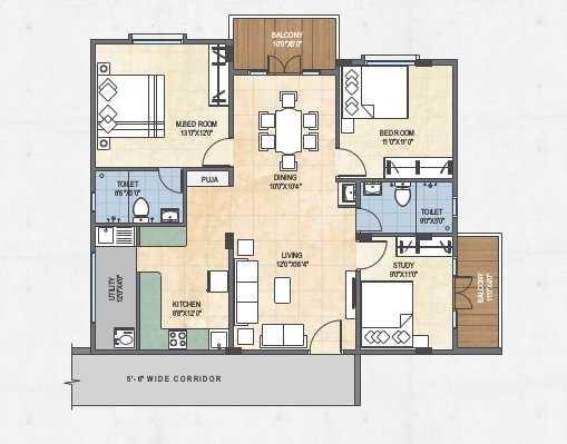 creative shree vikas apartment 3 bhk 2040sqft 20210328110329