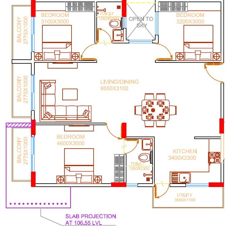 damden vivo apartment 3bhk 1403sqft 1