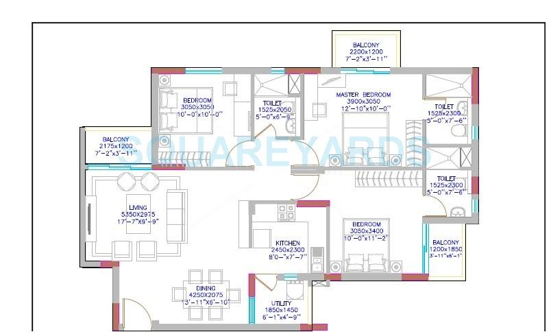 Bhk Sq Ft Apartment For Sale In Dlf Maiden Heights At Rs