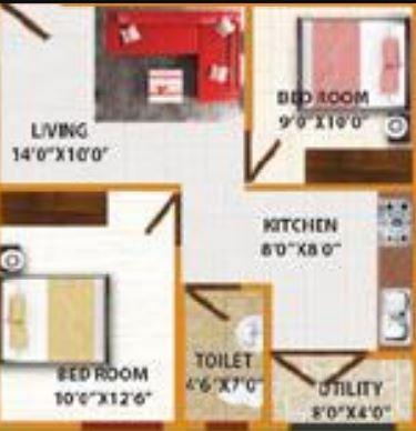 ds max smart nest apartment 1bhk 734sqft21