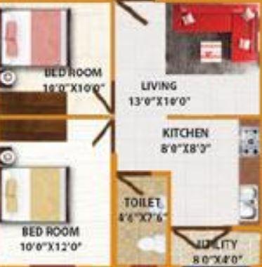 ds max smart nest apartment 3bhk 1326sqft21