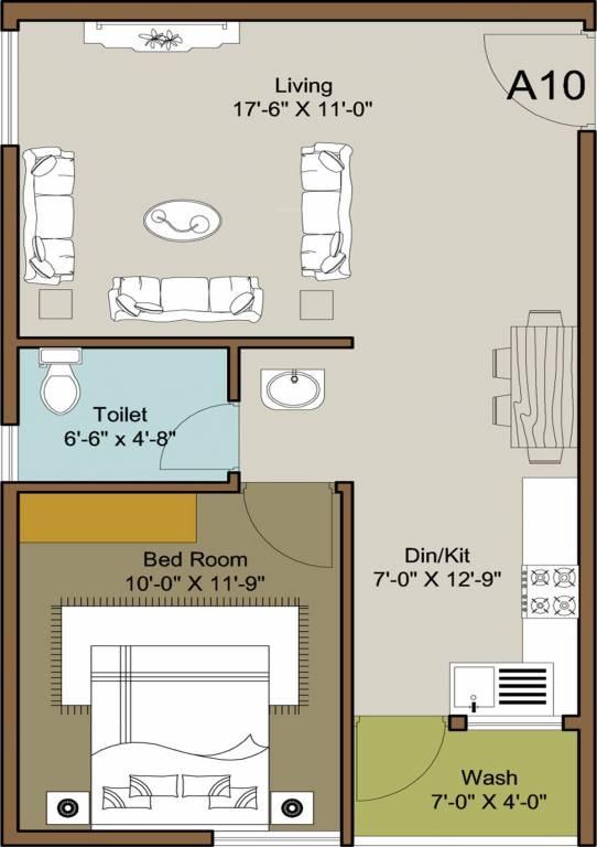 ecolife elements of natures apartment 1 bhk 663sqft 20200613080639