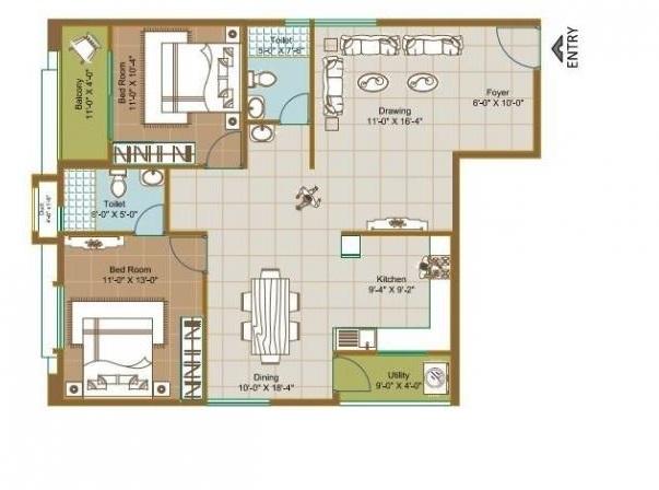 ecolife elements of natures apartment 3 bhk 1385sqft 20201613081649