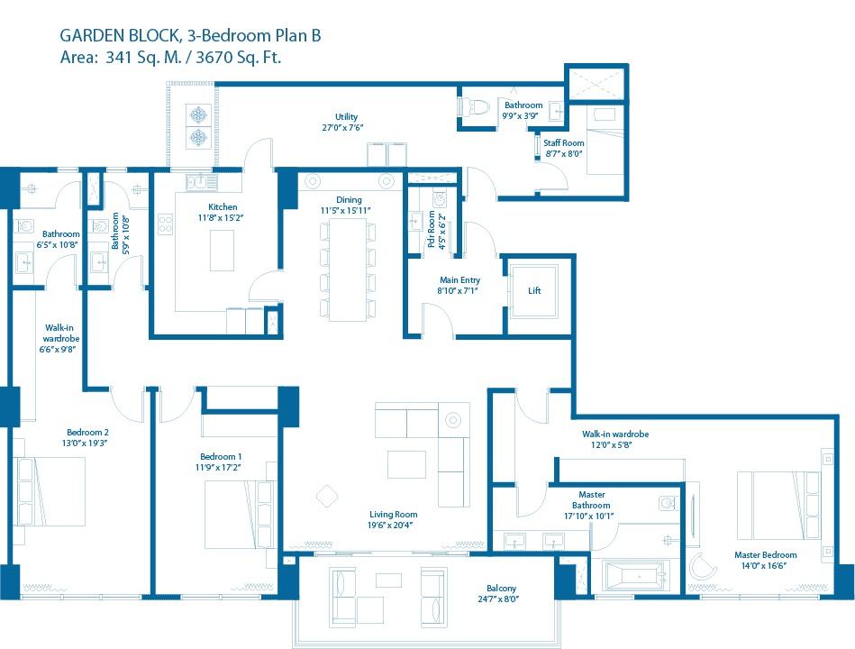 embassy lake terraces apartment 3 bhk 3670sqft 20202714082708