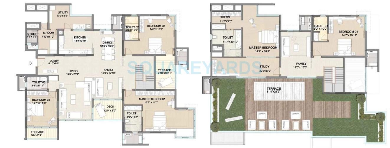 embassy pristine apartment 5bhk 4289sqft1