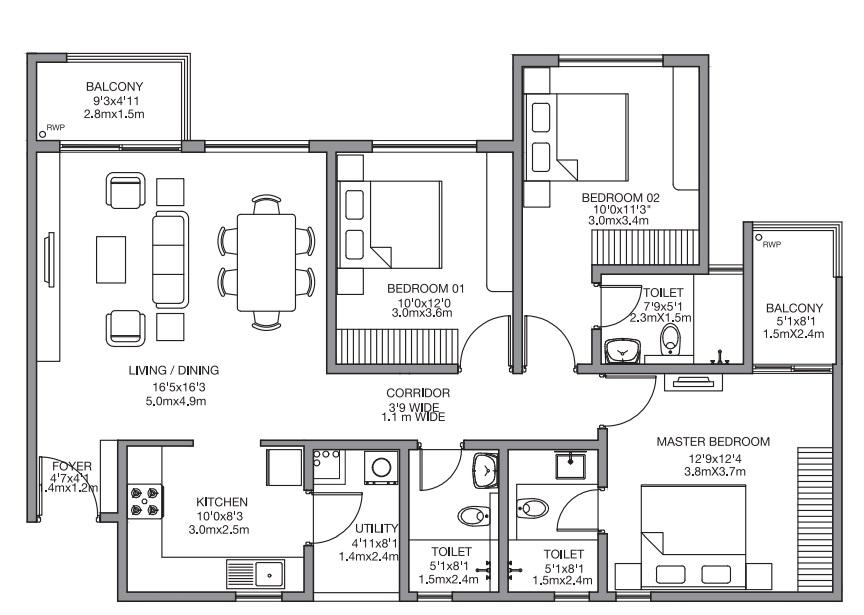 godrej 24 sarjapur apartment 3bhk 1544sqft71