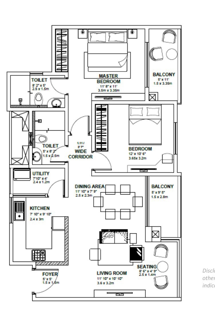 godrej avenues apartment 2bhk 1263sqft 1