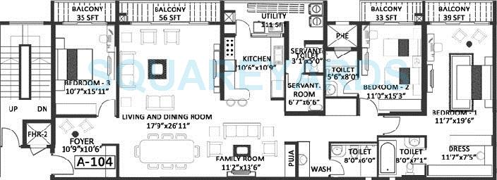 godrej platinum apartment 3bhk 2900sqft1