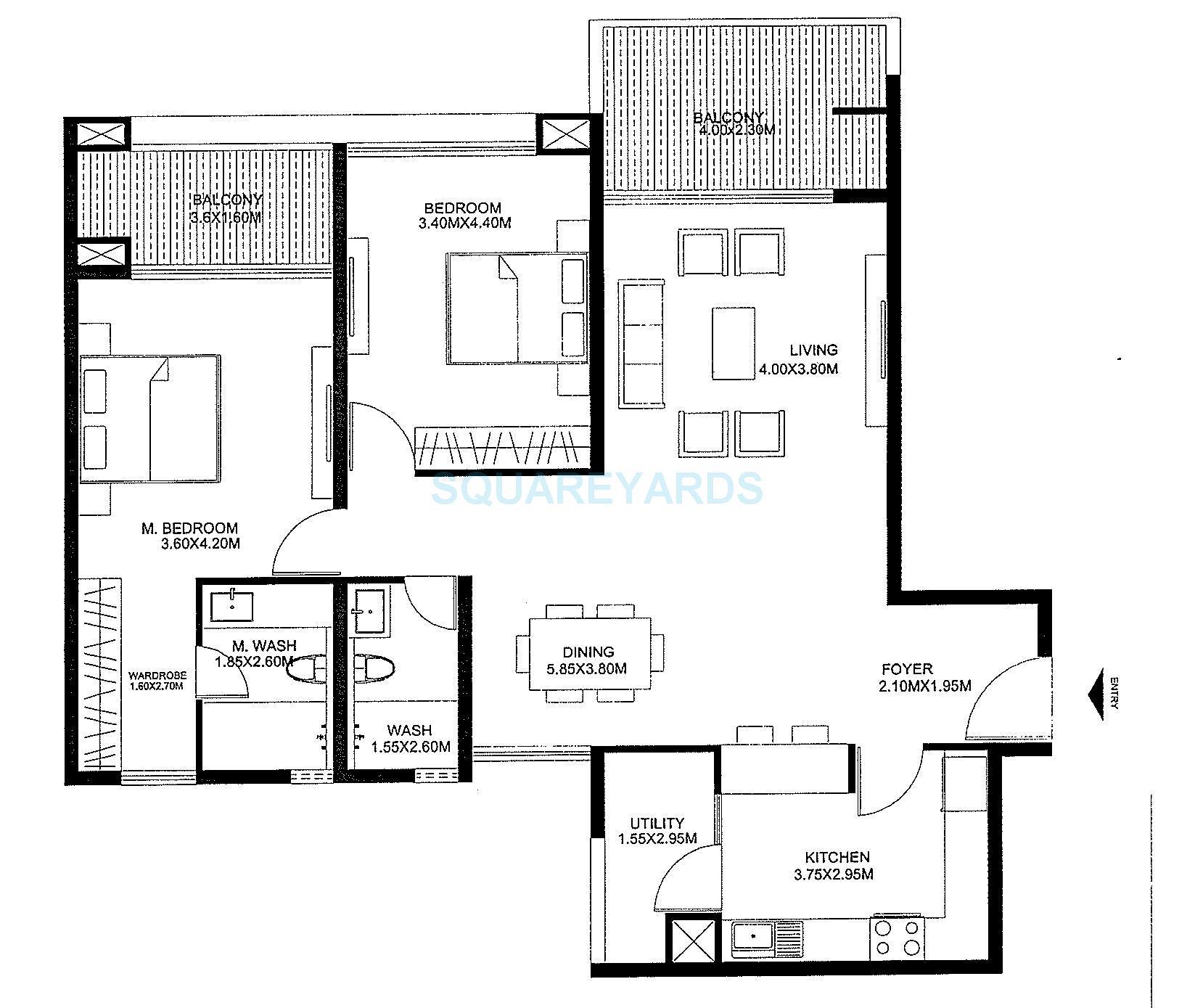 godrej united apartment 2bhk 1761sqft1