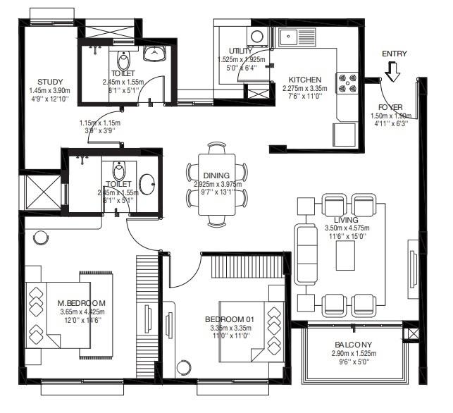 godrej zest apartment 2bhk 904sqft131