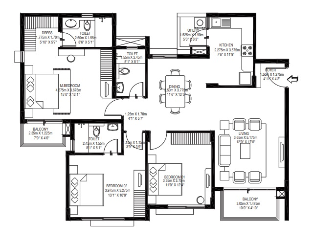 godrej zest apartment 3bhk 1184sqft81