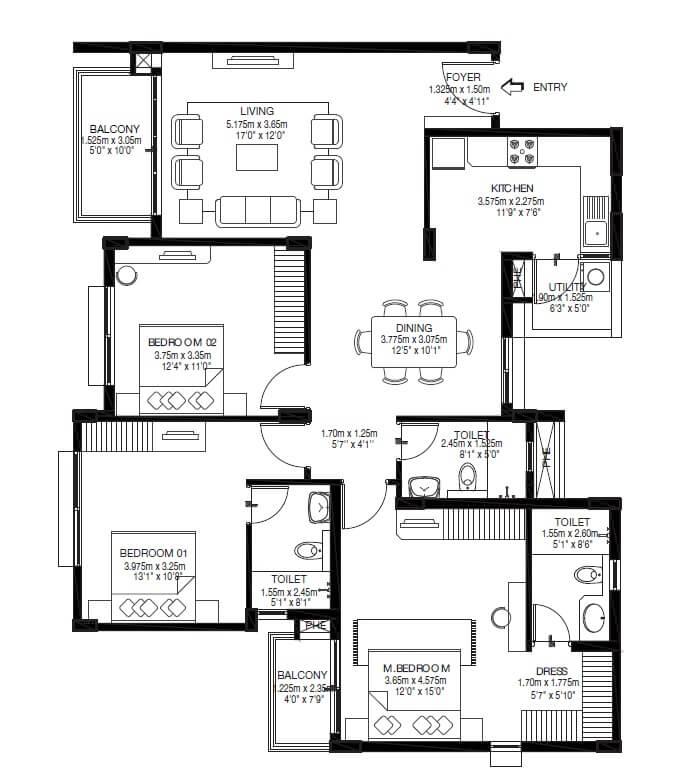 godrej zest apartment 3bhk 1186sqft 1