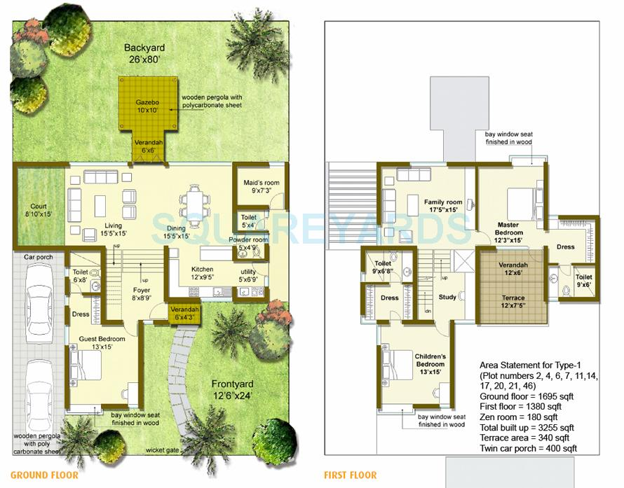 good earth goodearth palmgrove villa 3bhk 3255sqft1