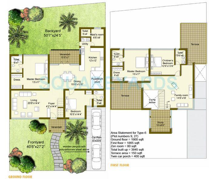 good earth goodearth palmgrove villa 4bhk 3845sqft1