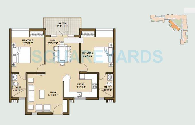 good earth malhar terraces apartment 2bhk 1128sqft1