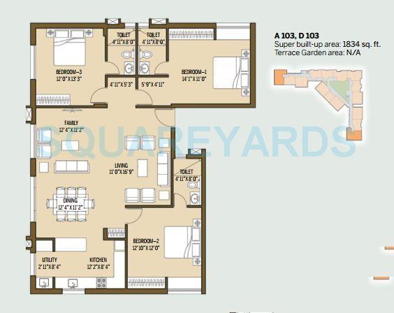 good earth malhar terraces apartment 3bhk 1834sqft1