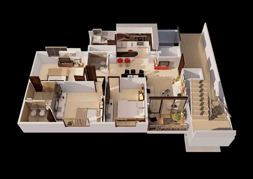 goyal and co orchid woods apartment 3bhk 1534sqft121