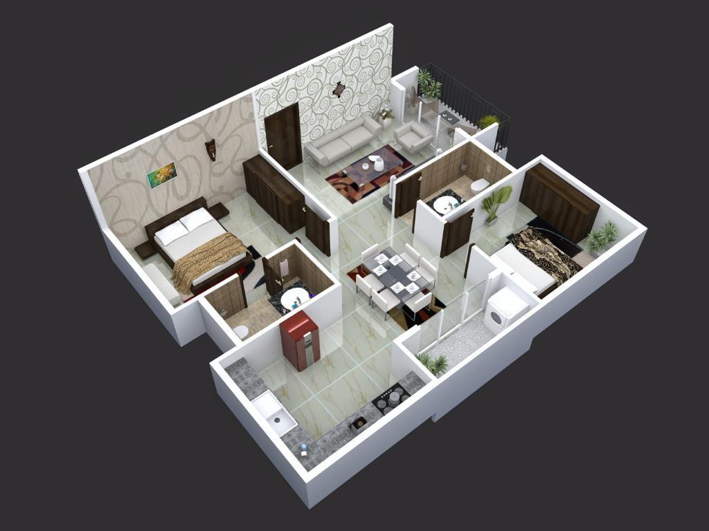 green anees enclave apartment 2 bhk 1080sqft 20210726110746