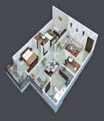 green anees enclave apartment 2 bhk 1230sqft 20211526111536