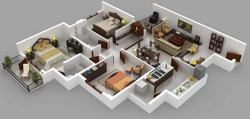 hm nimbus apartment 3bhk 1663sqft71