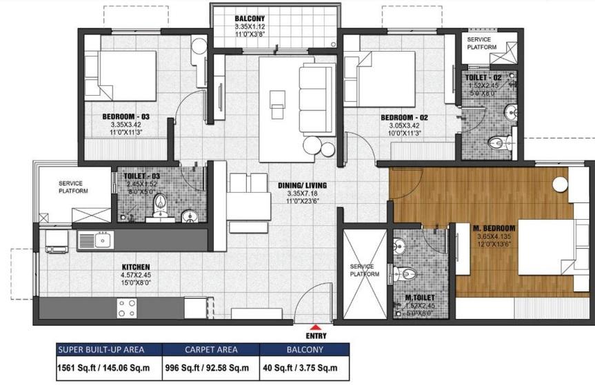 jasper at brigade el dorado apartment 3 bhk 1561sqft 20201313091333