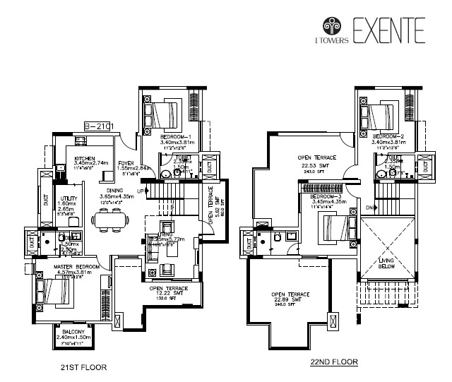 kolte patil itowers exente apartment 4 bhk 1527sqft 20212008132004