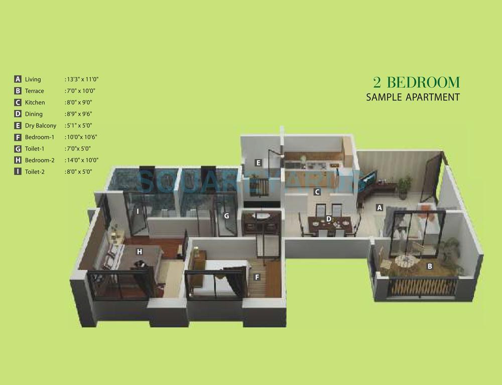 kumar princeville apartment 2bhk 1239sqft1