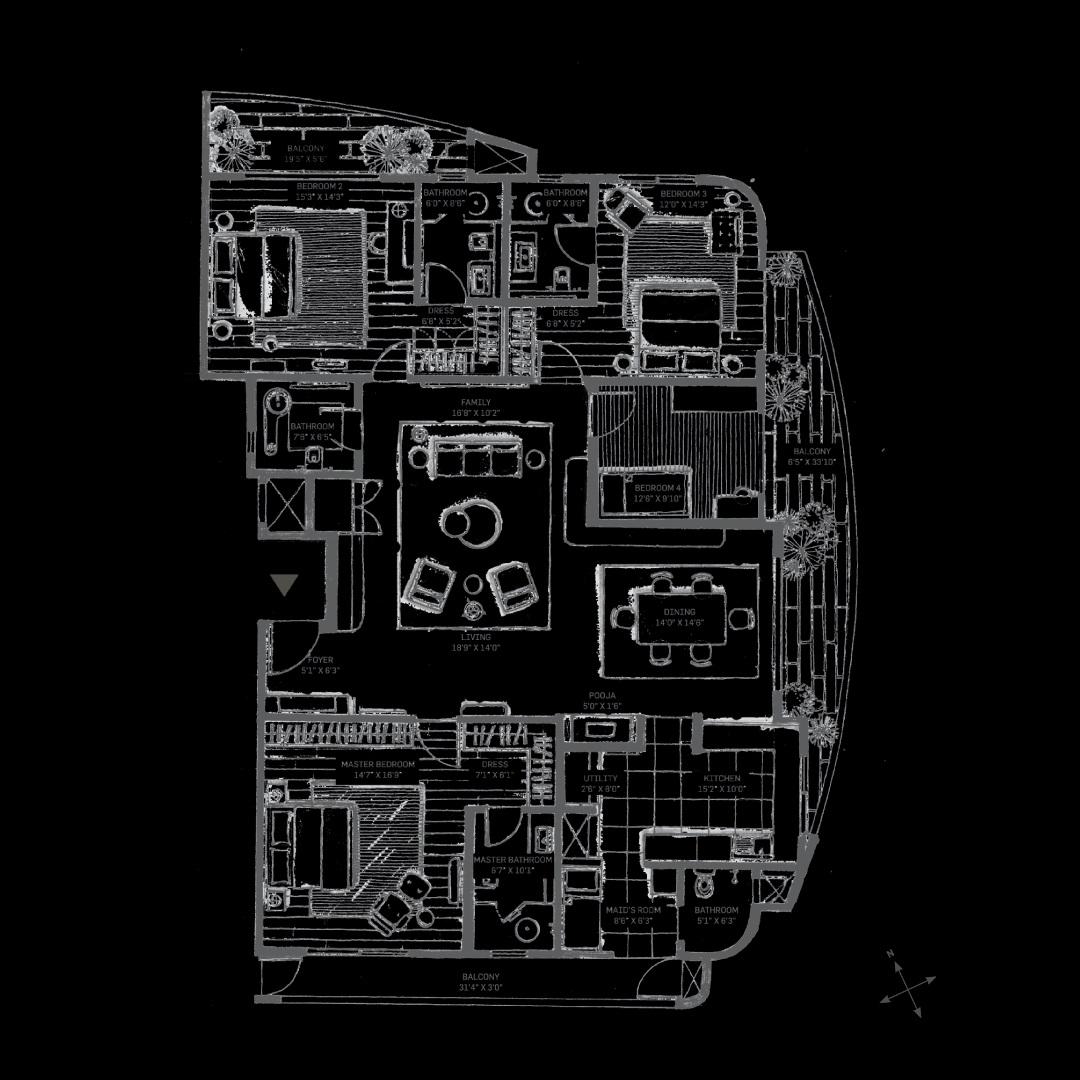 machani svasa homes apartment 4 bhk 3558sqft 20215907145909