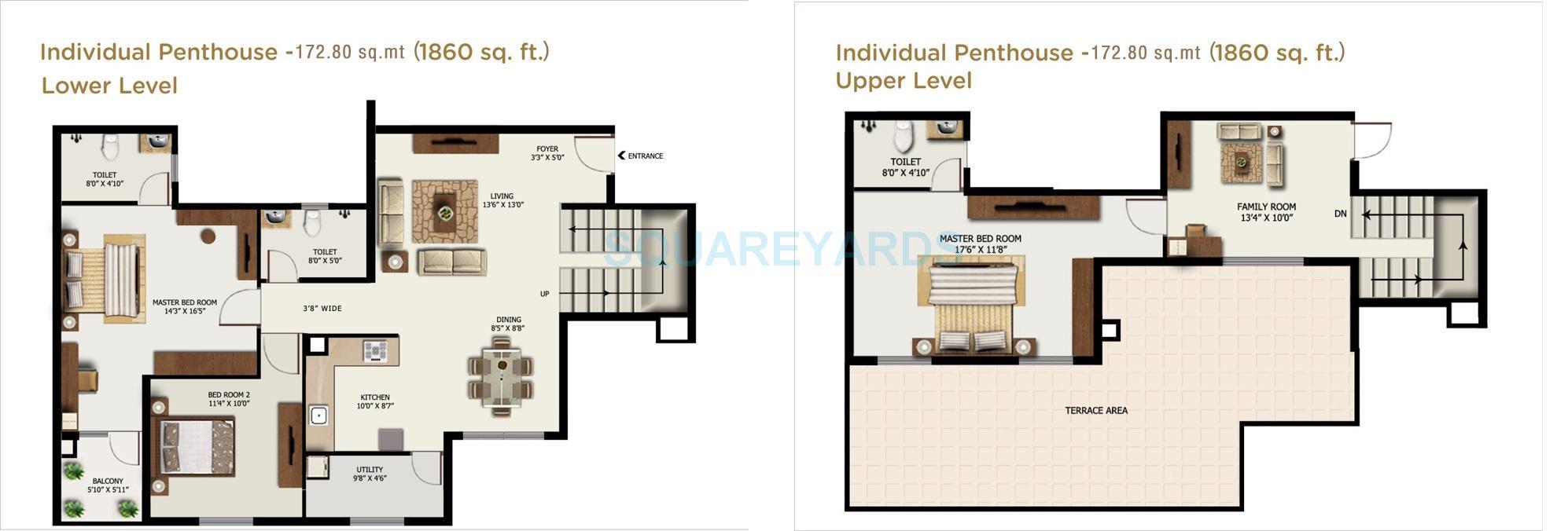 mantri alpyne apartment 3bhk 1860sqft1