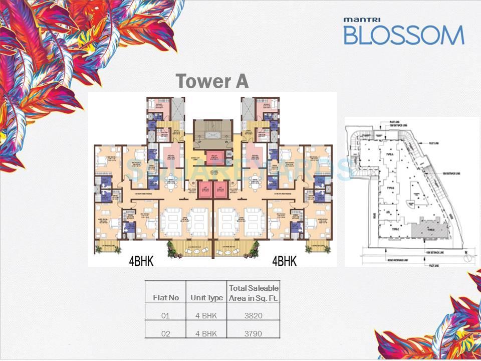 mantri blossom apartment 4bhk 3790sqft1