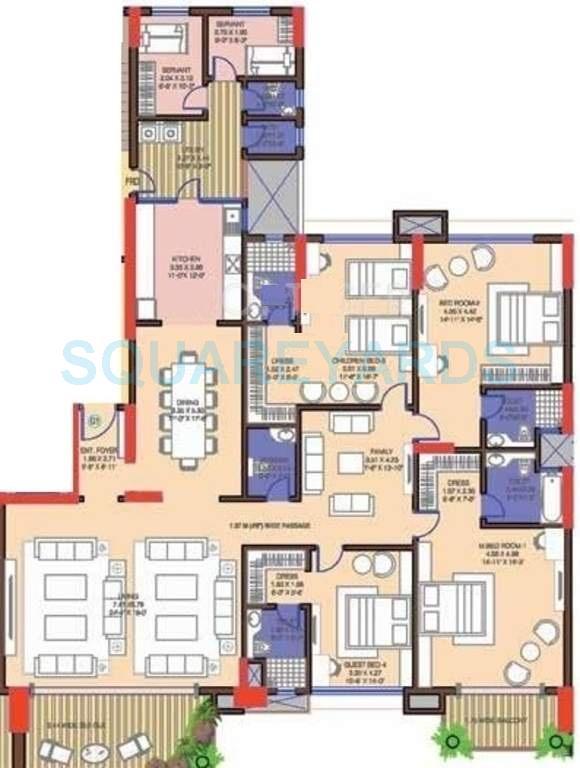 mantri blossom apartment 4bhk 3810sqft1