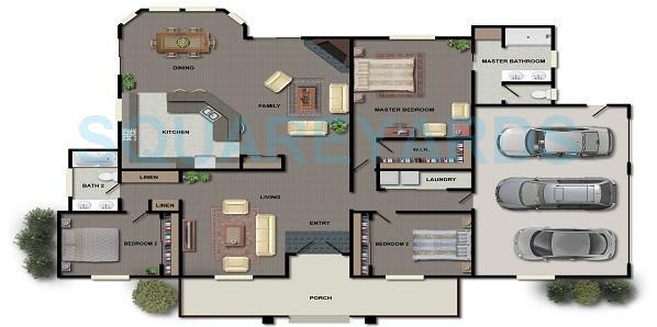 mantri classic apartment 3bhk 2020sqft1