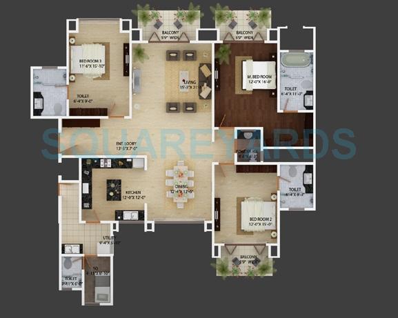 mantri espana apartment 3bhk 2665sqft1