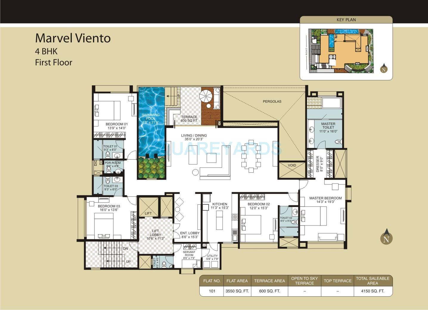 marvel marvel viento apartment 4bhk 4150sqft1