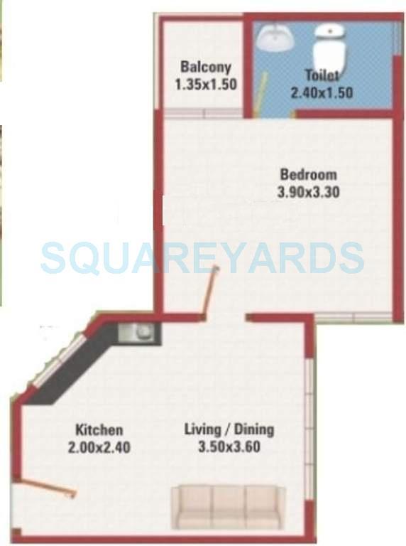 mj lifestyle amadeus apartment 1bhk 466sqft1