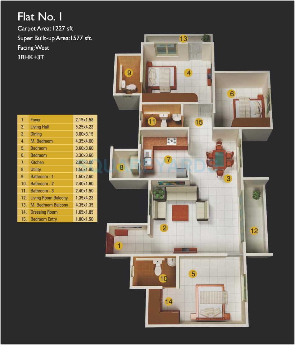 mj lifestyle amadeus apartment 3bhk 1510sqft1
