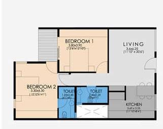 ncorp residences skywalk apartment 2 bhk 1181sqft 20210915170938