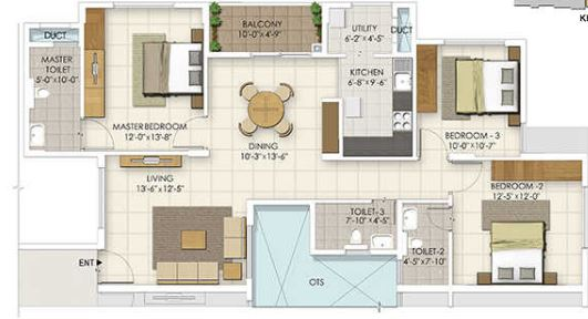 ozone urbana irene apartment 3 bhk 1330sqft 20200517120500