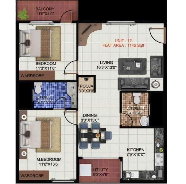 pariwar passion apartment 2bhk 1145sqft 20203219153252