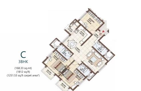 pashmina waterfront apartment 3 bhk 1812sqft 20203815103832
