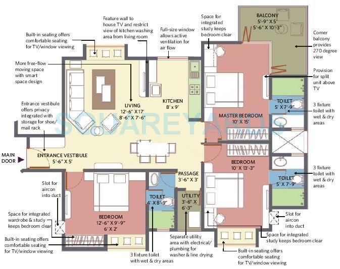 patel smondo 2 apartment 3bhk 1460sqft1