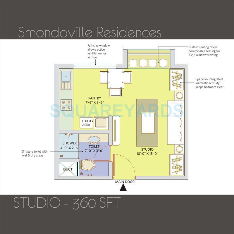 patel smondoville apartment 1bhk 360sqft1