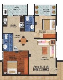 peace rhythm apartment 2 bhk 1136sqft 20205020105028