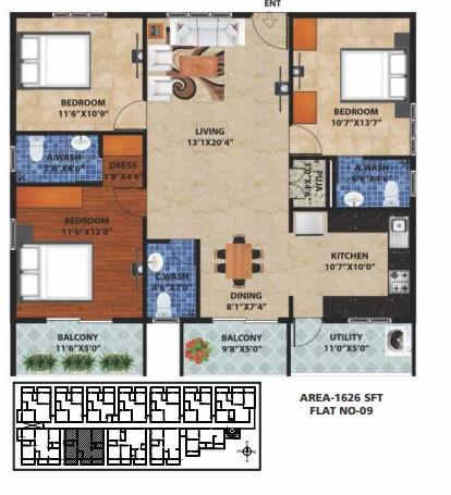 peace rhythm apartment 3 bhk 1626sqft 20204520104527