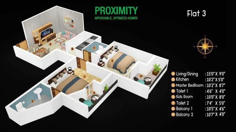 preeti proximity apartment 2 bhk 968sqft 20212325112321