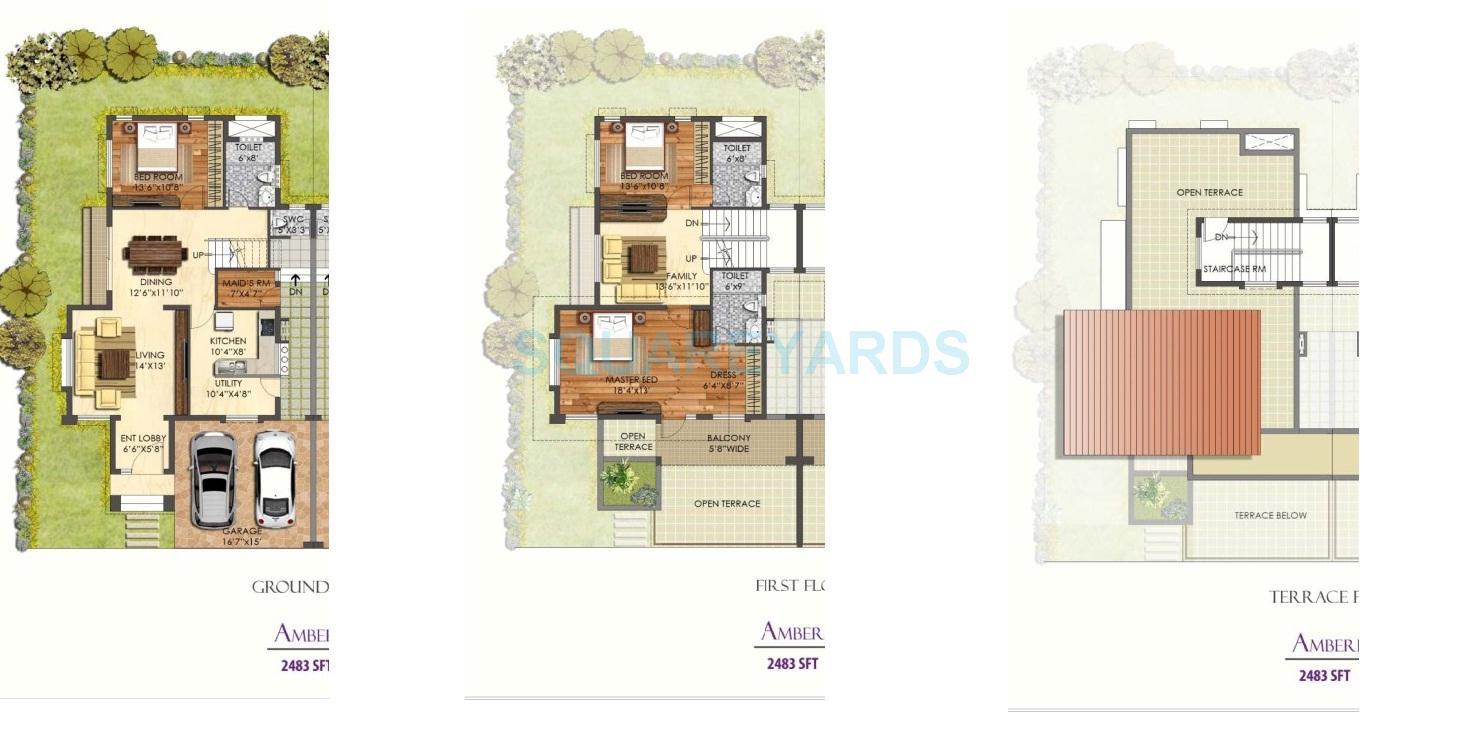 prestige mayberry villa 3bhk 2483sqft1