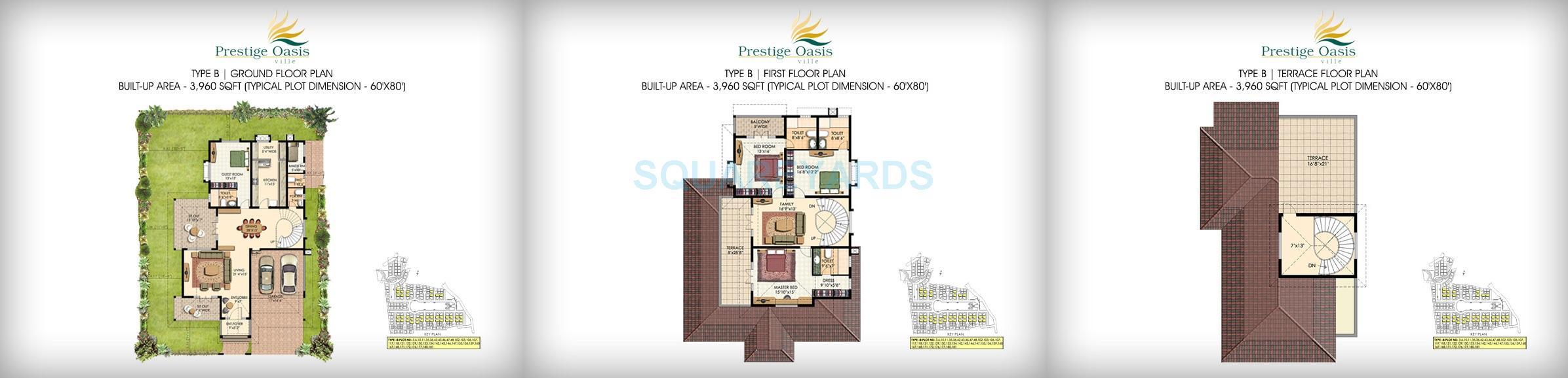 prestige oasis villa 4bhk 3960sqft1